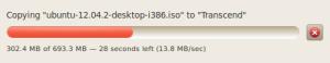 Kecepatan Transfer Data di Ubuntu 10.04