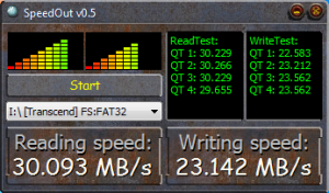 SpeedTest Speedout